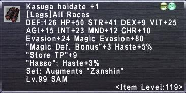 Kasuga Haidate +1
