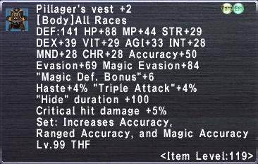 Pillager's Vest +2
