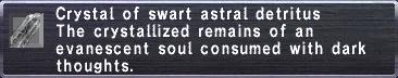 Swart Astral Detritus