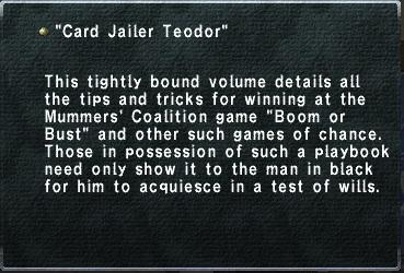 Card Jailer Teodor