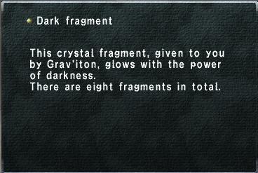 Dark Fragment