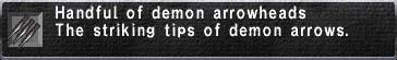 Demon Arrowheads