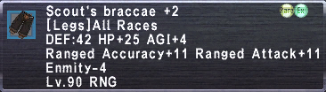 Scout's braccae 2
