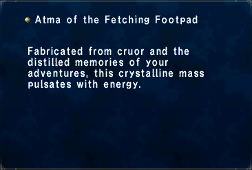 Atma of the Fetching Footpad