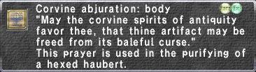 C.Abjuration Bd.
