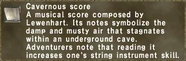 Cavernous score