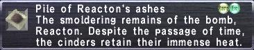 Reacton's Ashes