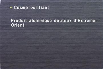 Cosmo-purifiant