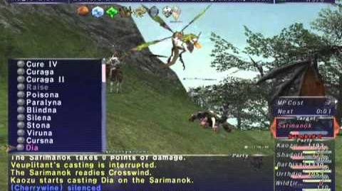 FFXI NM Saga 317 Sarimanok VNM Full Battle