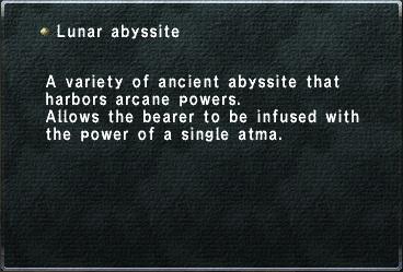 LunarAbyssite