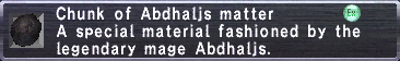 Abdhaljs Matter
