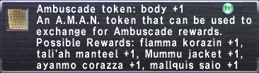 Ambuscade Token Body +1