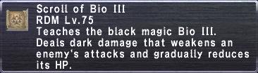 Bio III
