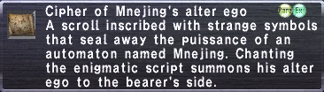 Cipher mnejing