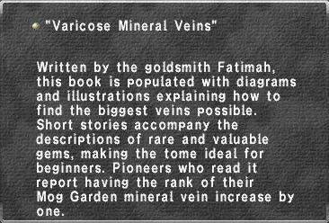 Varicose Mineral Veins
