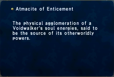 Atmacite of Enticement
