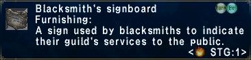 BlacksmithsSignboard