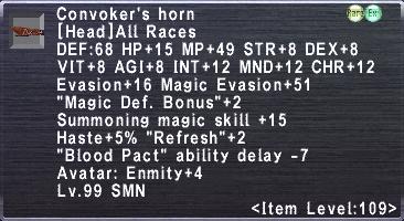 Convoker Horn