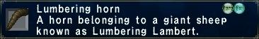 LumberingHorn
