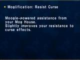 Moglification: Resist Curse