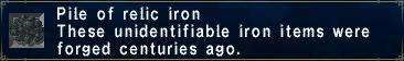RelicIron