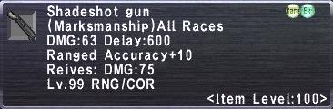 Shadeshot Gun