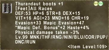 Thurandaut boots +1