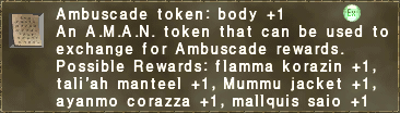 Ambuscade token body +1