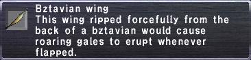 Bztavian Wing