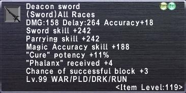 Deacon Sword