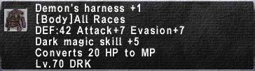 Demons Harness Plus 1