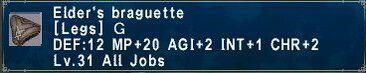 Elder braguette