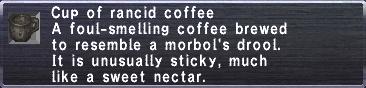 Rancid Coffee