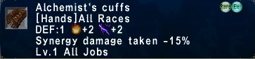 Alchemist's Cuffs