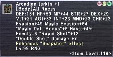 Arcadian Jerkin Plus 1