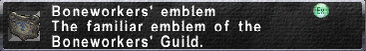 Boneworkers' Emblem