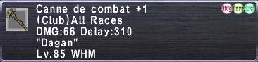 Canne de Combat +1