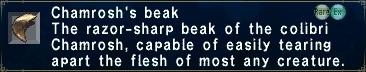 Chamrosh's beak2