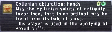 Cyllenian Abjuration Hands