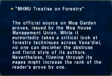 MHMU Treatise on Forestry