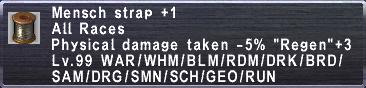 Mensch Strap +1