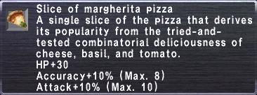 Slice of Margherita Pizza