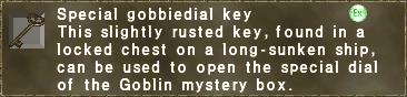 Special gobbiedial key