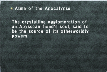 Atma of the Apocalypse
