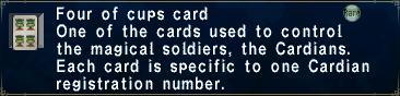 Card fourofcups