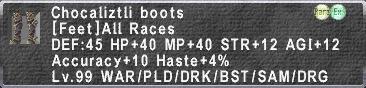Chocaliztli Boots