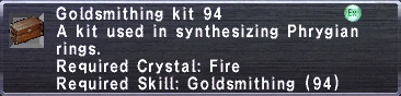 Goldsmithing Kit 95