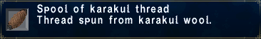 Karakulthread