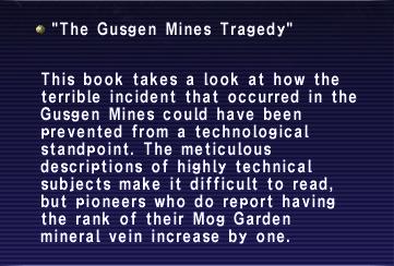 The Gusgen Mines Tragedy