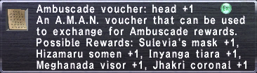Ambuscade Voucher-Head+1